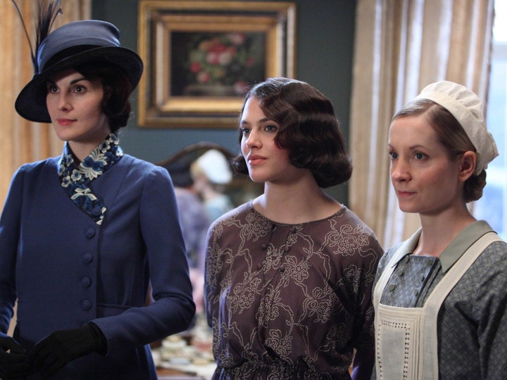 Downton Abby Series 1,2,3
