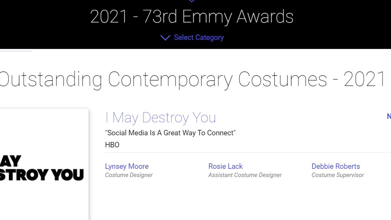 Emmy Nominations 2021
