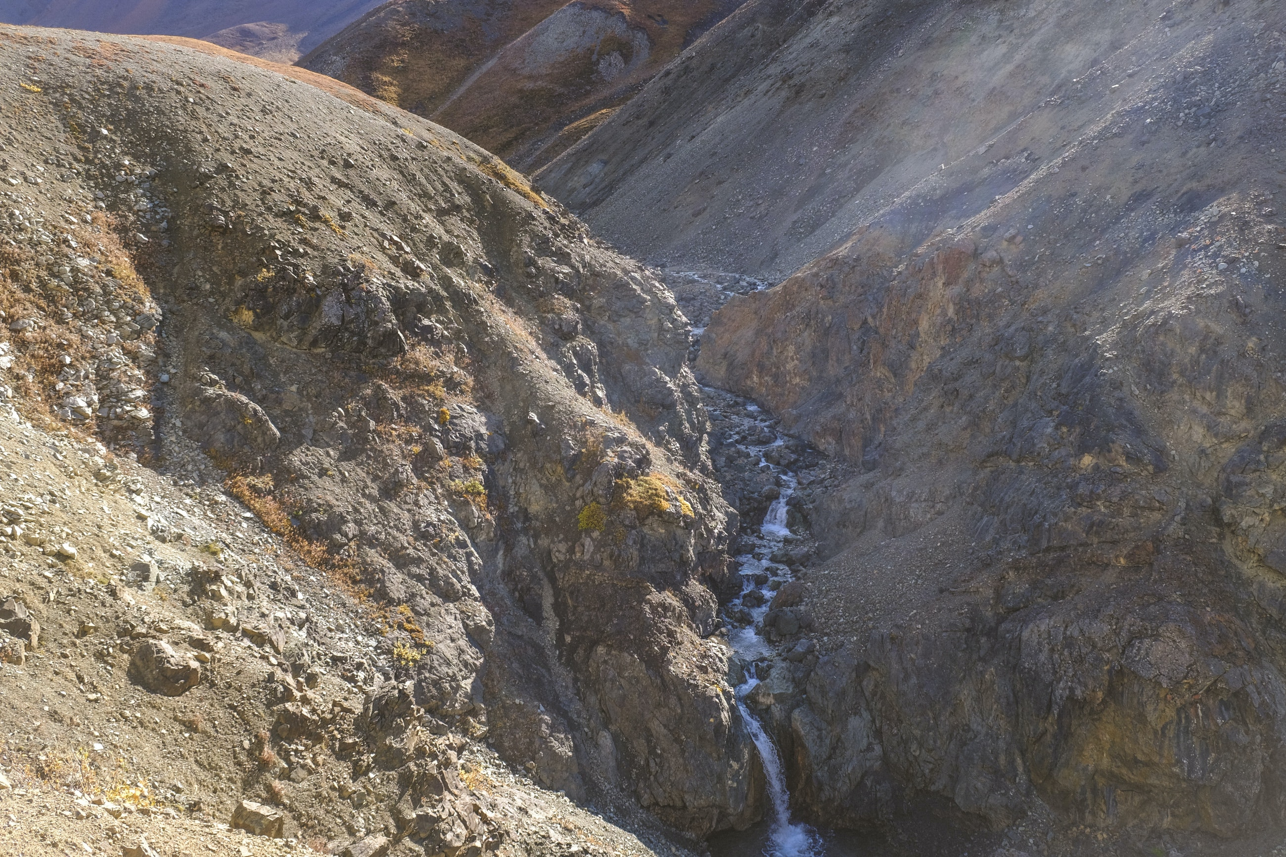 The waterfall - Denali National Park