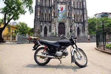 Honda Win in Hanoi Vietnam