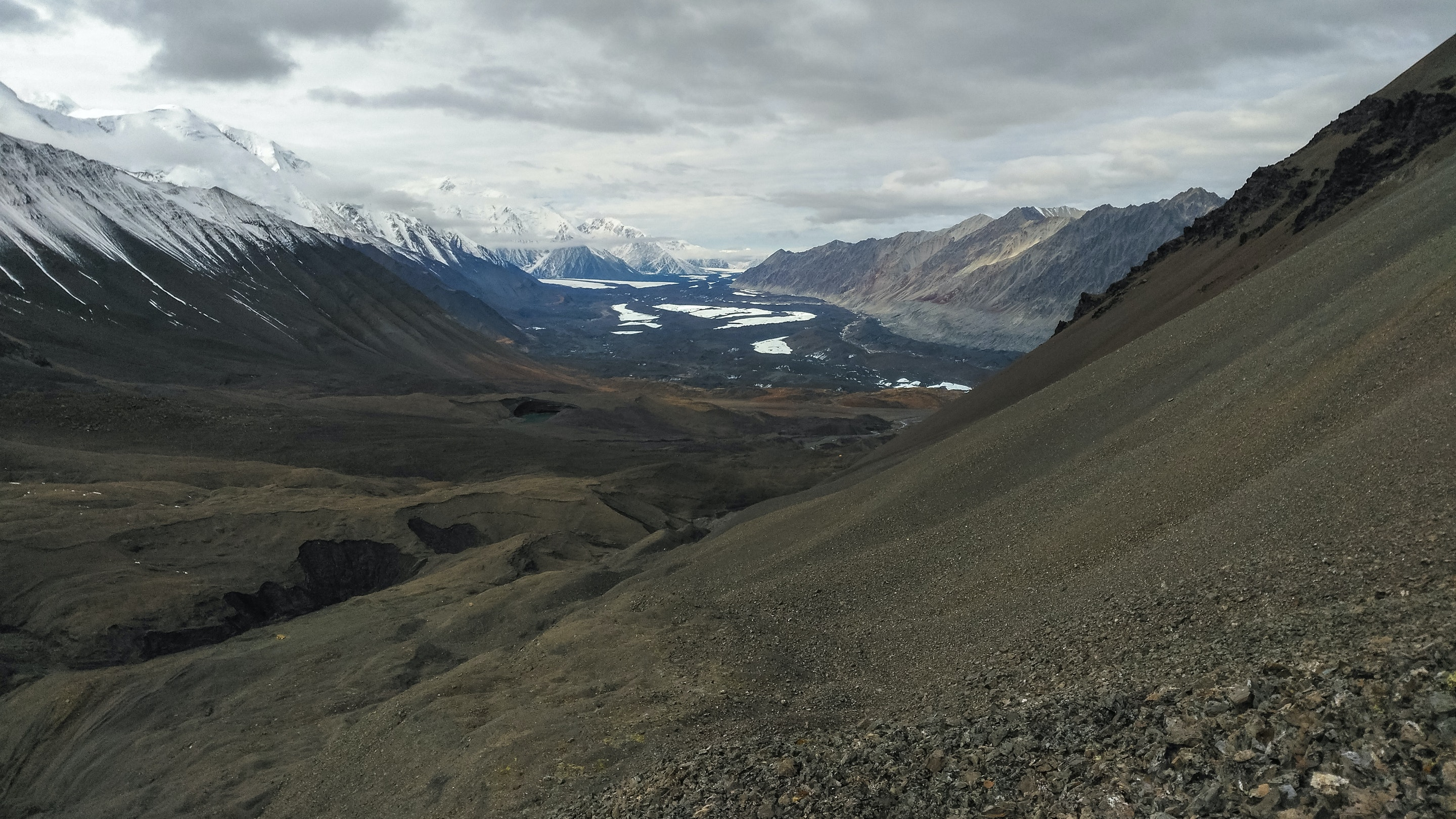 Looking back... Where's my tent? - Denali National Park