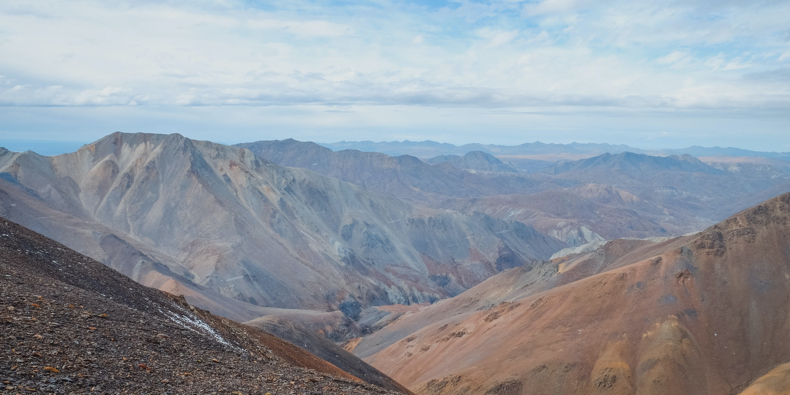 view from the top - Denali National Park