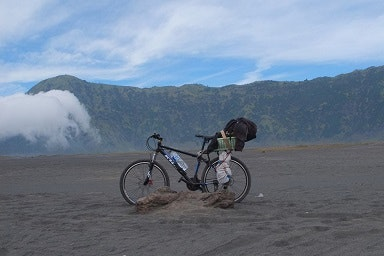 My first touring bike was a mountain bike