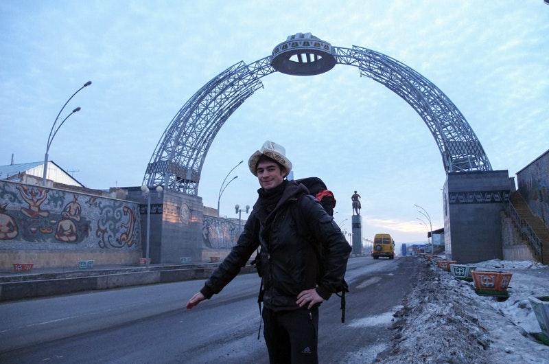Hitchhiking Kyrgyzstan Kalpak