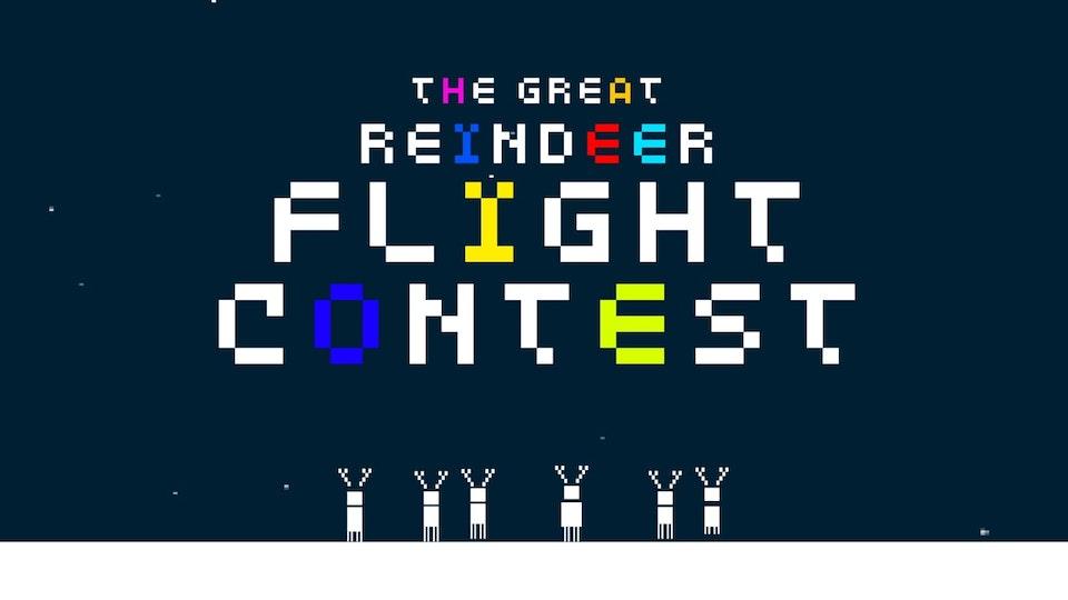 The Great Reindeer Flight Contest