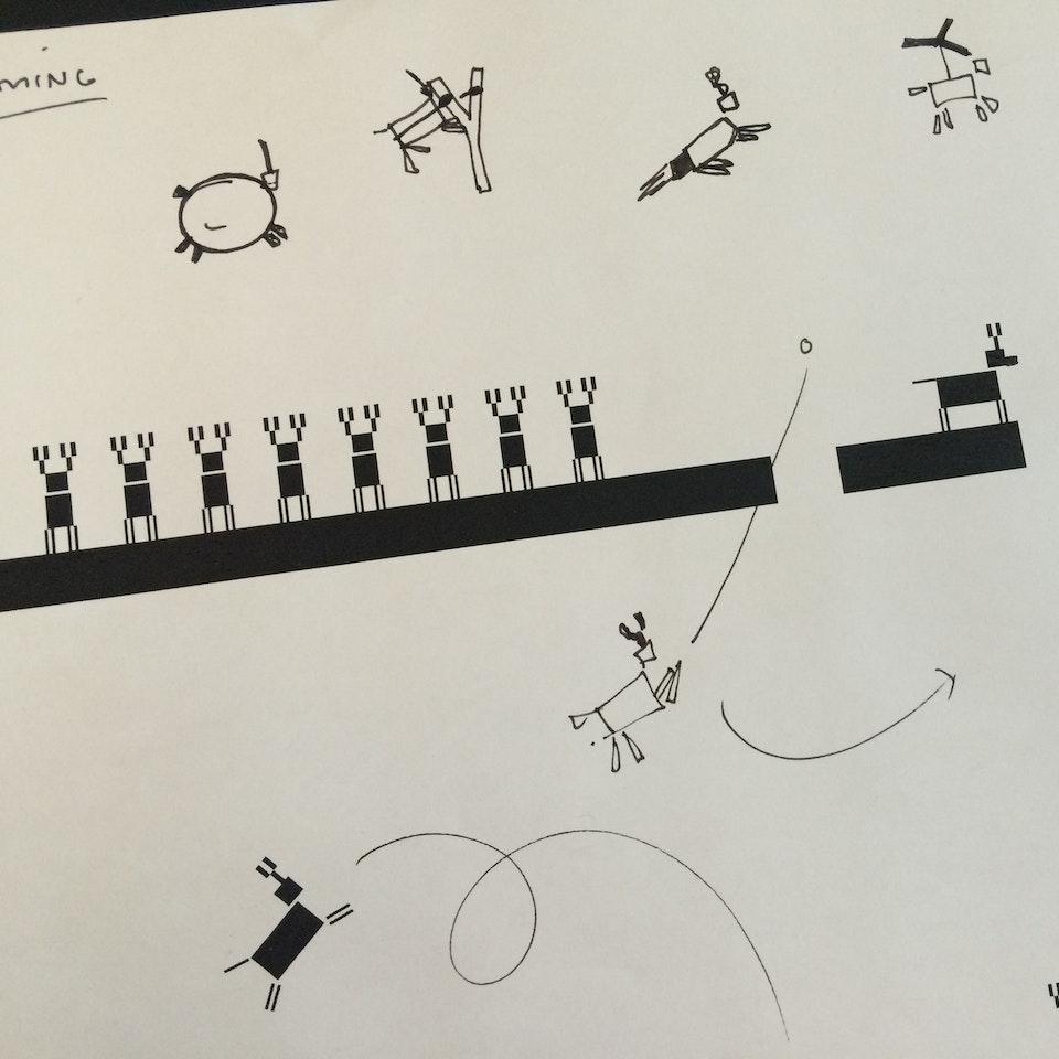 Cyril Gfeller - Sketching a x-mas animation