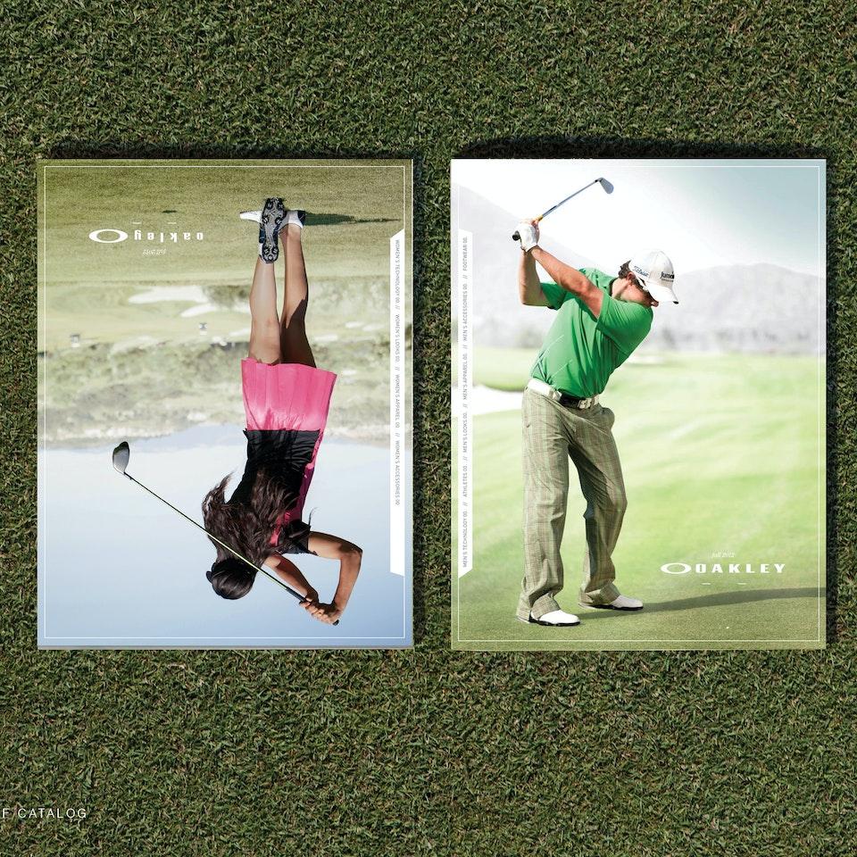 April Larivee - Oakley Fall Golf Catalog