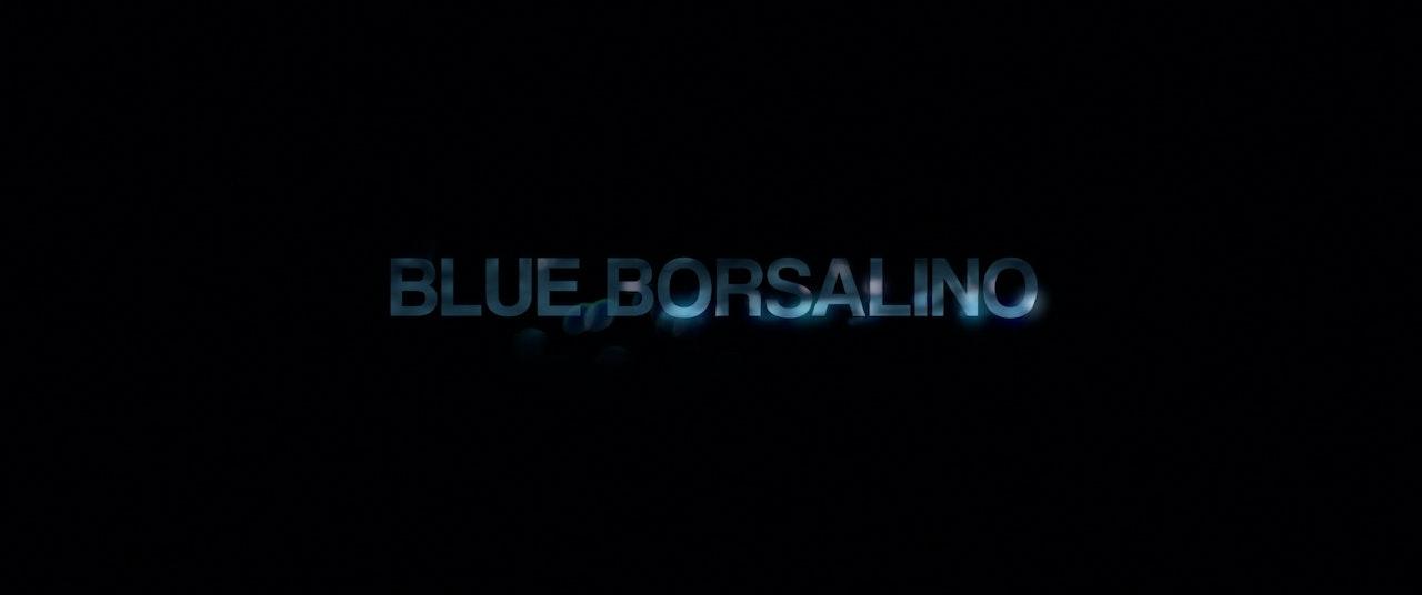 BLUE BORSALINO -