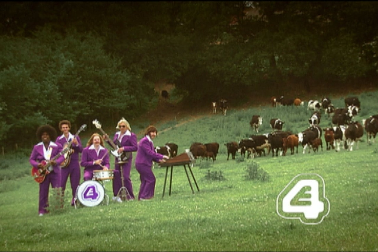 E4 Band Continuity Ident Cows