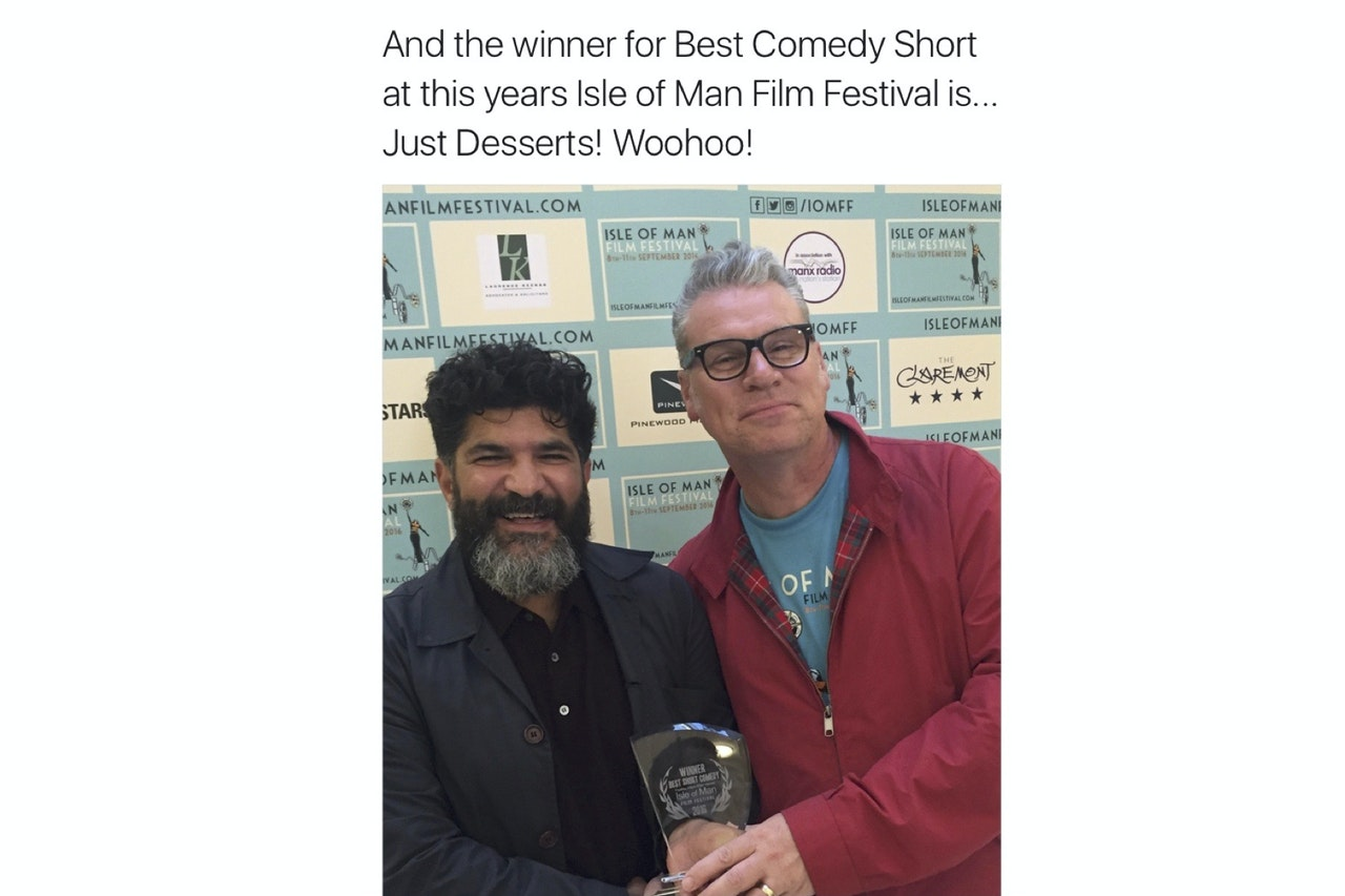And the Winner of Best Comedy is... JUST DESSERTS!