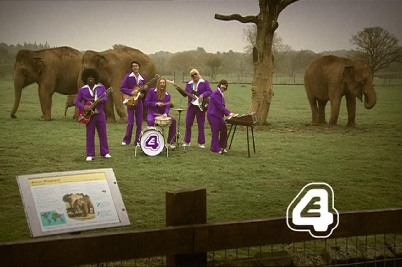 E4 Band Continuity Ident Elephants