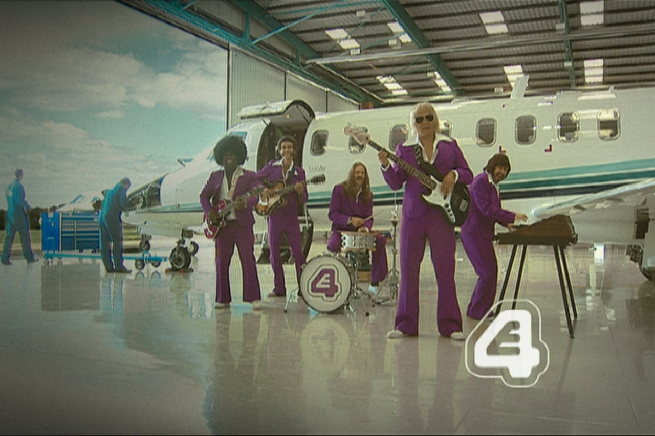 E4 Band Continuity Ident Plane