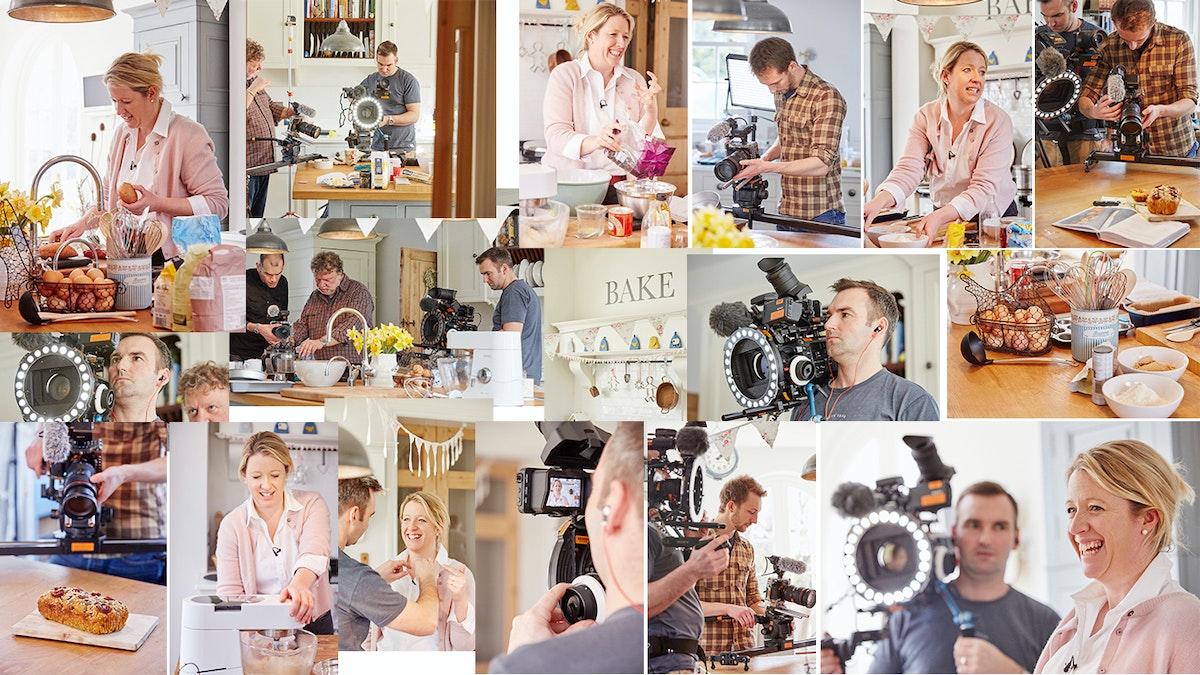 Baking with Miranda Gore-Browne