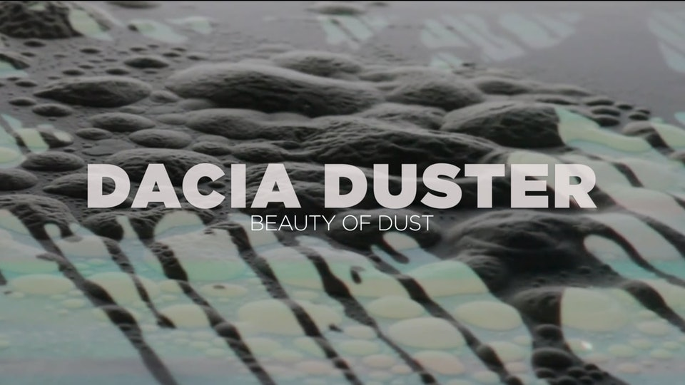 DACIA DUSTER 'Beauty of Dust'