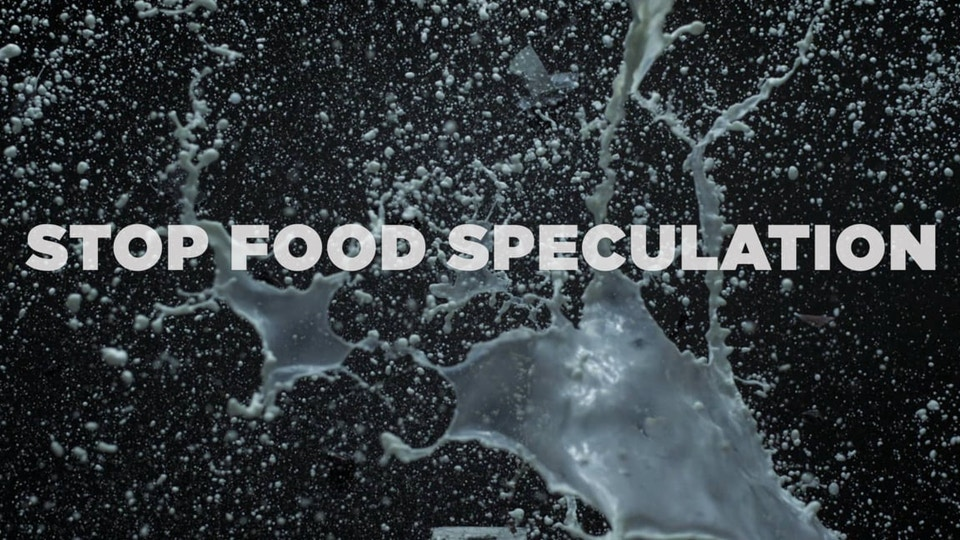 STOP Food Speculation