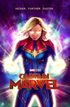 Social Media Marketing for Film and Television - Commissioned by Marvel Studios (via The Poster Posse) for the promotion of Captain Marvel leading up to the theatrical release on social media and at press events.