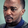 Marvel - Anthony Mackie as Sam Wilson from The Falcon and the Winter Soldier.