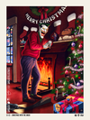 Licensed Posters - Christmas with the Joker (licensed by DC/Warner Bros. and produced in collaboration with Bottleneck Gallery).
