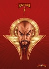 Licensed Posters - Ming the Merciless (official Flash Gordon print produced in collaboration with Fanattik).
