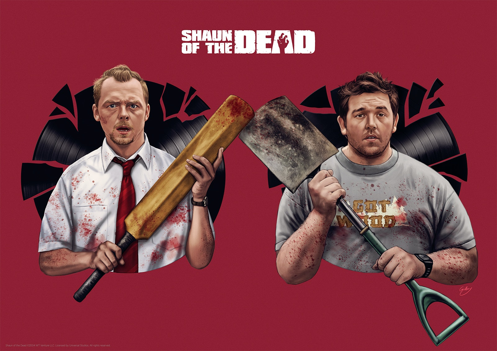 Blood And Ice Cream Trilogy Officially Licensed Prints