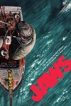 Official Classic Film Posters - Jaws (licensed by Universal Studios and produced in collaboration with Fanattik).