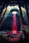 Official Classic Film Posters - E.T. The Extra Terrestrial (licensed by Universal Studios and produced in collaboration with Fanattik).