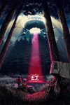 Licensed Posters - E.T. The Extra Terrestrial (licensed by Universal Studios and produced in collaboration with Fanattik).