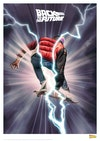 Licensed Posters - Back to the Future Skate/hoverboarding (licensed by Universal Studios and produced in collaboration with Fanattik).