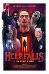 Independent Project Posters - Poster created for the promotion of interactive Horror movie, Help Falls, 2017.