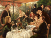 Pop Culture Parody - 'Luncheon of the New Boating Party (after Renoir) for a group exhibition paying tribute to the works of Jeunet and Caro, Spoke Art, San Fran, May 2015.