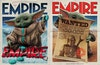 Magazine and Book Covers - Empire Magazine subscriber covers featuring Grogu from The Mandalorian, via Central Illustration Agency, Feb 2020 (right) and December 2020. Creative direction by Chris Lupton.