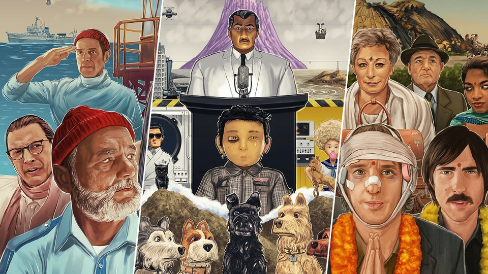 Wes Anderson posters