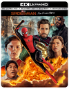 Film Marketing - Exclusive blu-ray steelbook wraparound cover art, commissioned by Sony Pictures and Marvel Studios (via The Poster Posse) for the home release of Spider-Man: Far From Home, with official talent approval. Exclusive to Best Buy.