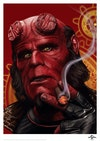 Licensed Posters - Hellboy (licensed by Universal Studios and produced in collaboration with Fanattik).