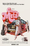 Pop Culture Parody - Parody of the original Superfly movie poster for a Chevy Metal gig.
