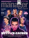 Magazine Covers - 'Netflix Special' – cover for Manager Magazine, September 2018.