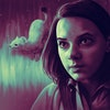 Podcasts - Portrait of Dafne Keen as Lyra Belacqua (with her accompanying Daemon) from the HBO/BBC adaptation of His Dark Materials.