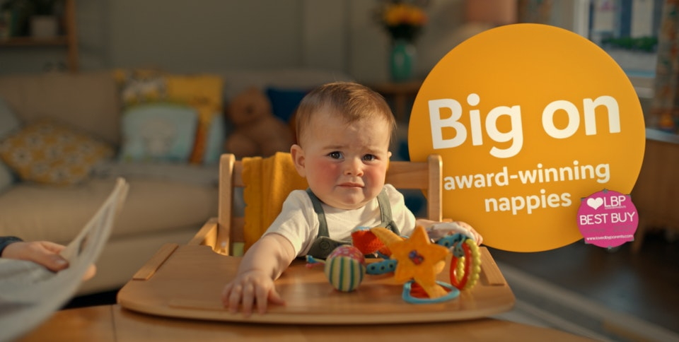 ABSOLUTE SWOOP IN WITH DYNAMIC VFX ON NEW LIDL CAMPAIGN