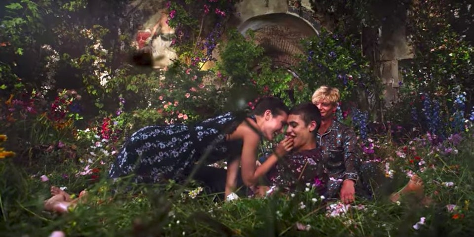 Absolute collaborate with Baz Lurhmann on Erdem X H&M campaign