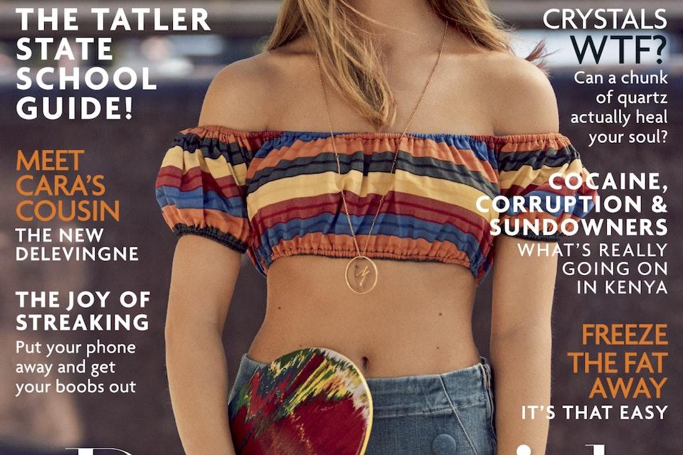 Tatler Cover Story Feb 2017 -