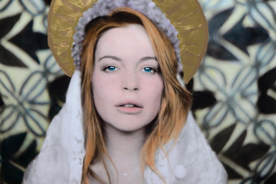 Lindsey Lohan and Tinie Tempah  Flaunt Magazine