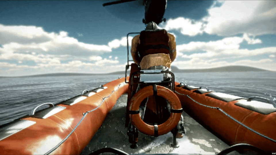 MS&T Search and Rescue Demo - Caption