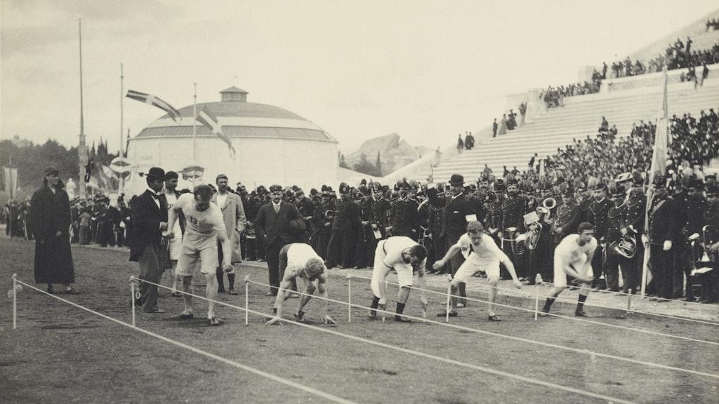 Olympics 1896: The Albert Mayer Photos