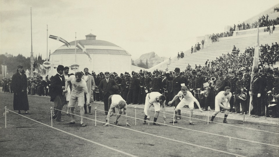 Olympics 1896: The Albert Mayer Photos