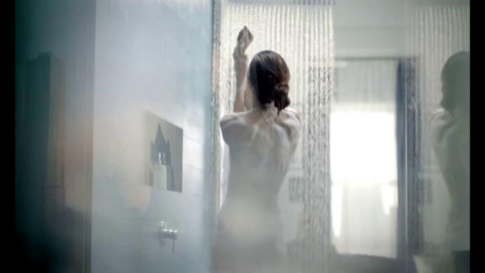 NIVEA in shower