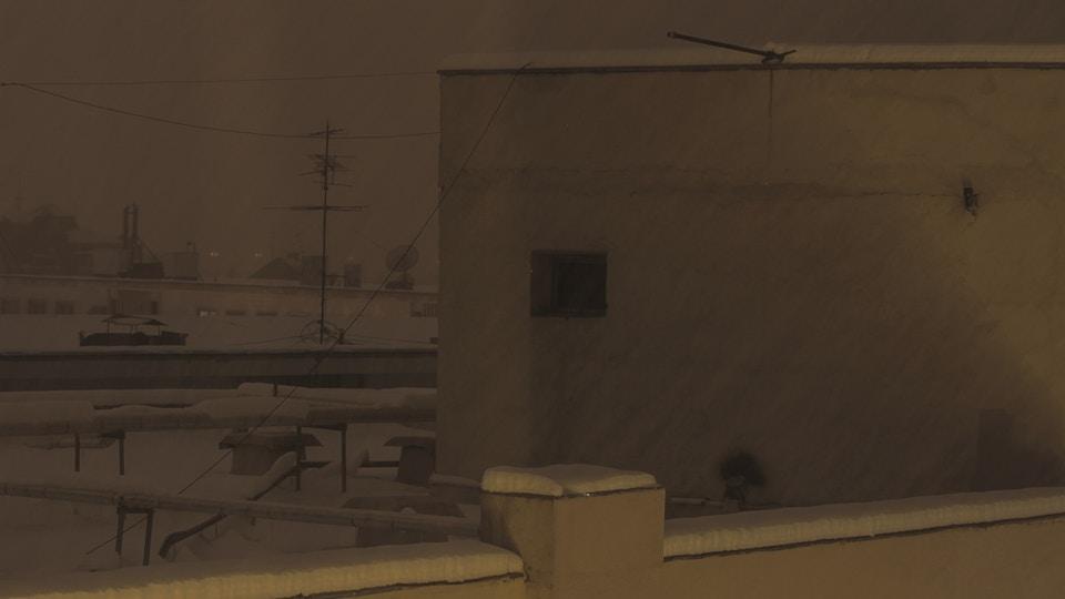 BUKAREST snow