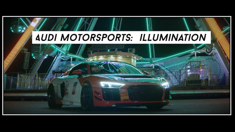 Audi Motorsports: Illumination