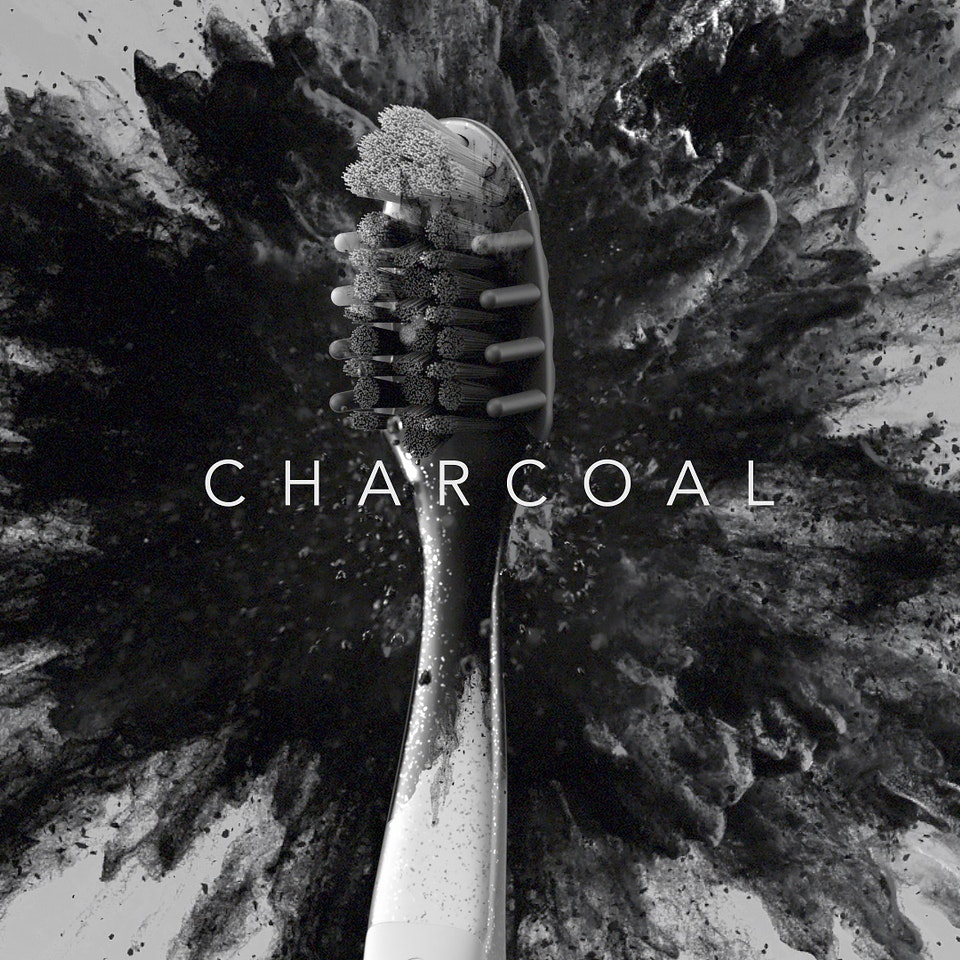 Oral-B // Charcoal Sizzle