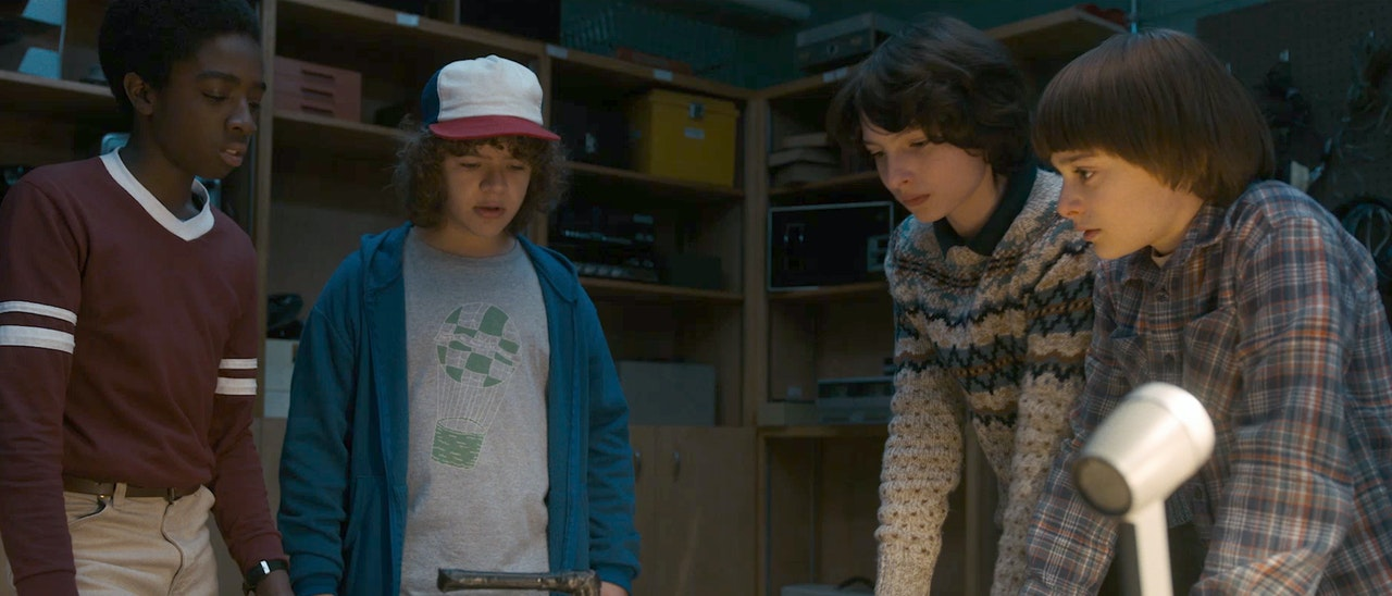 Google x  Netflix 'Stranger Things'
