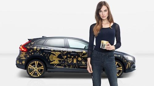 Volvo Art Car by Blanda